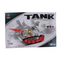bouwpakket intelligent tank 193-stuks zilver