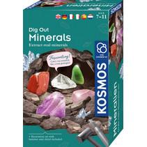 experimenteerset Dig Out Minerals 10-delig