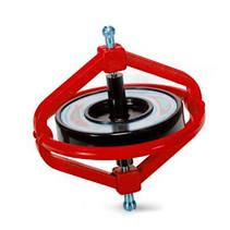 gyroscoop Wonder junior 7,5 cm staal rood 2-delig