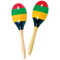 sambaballen junior 20 x 6 cm hout 2-delig