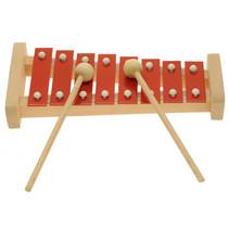 xylofoon pentatonisch hout rood
