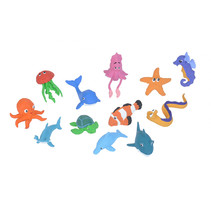 speelfiguren zeedieren junior 12-delig