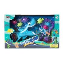speelset Shark Grabber blauw/paars Large 30 cm