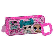 etui Hey Doll 21 x 5 x 8 cm polyester roze