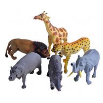 speelfiguren wilde dieren junior 6-delig