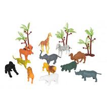 speelfiguren wilde dieren junior 12-delig
