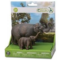 wilde dieren: speelset in giftverpakking 2-delig