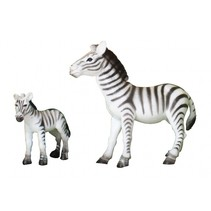 Wildlife zebra 18X13X7 cm