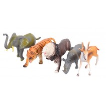 wilde dieren Animal Kingdom 5-delig