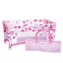 reiswieg Baby Stella meisjes 40,65 cm textiel roze