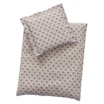 babypop beddengoed grijs 44x35 cm
