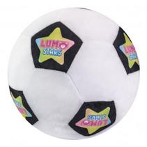 knuffel Ball Soccer Ball 24 cm pluche wit/zwart