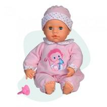 interactieve babypop 38 cm roze