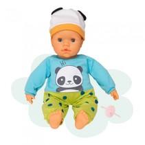 interactieve babypop 38 cm panda multicolor