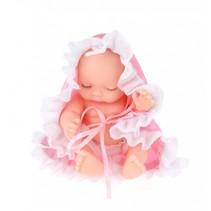babypop Cute in bal 10 cm meisjes roze 3-delig