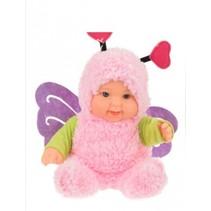 Babypop met vlinderpakje 22.5cm