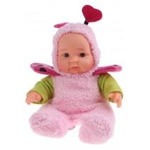 Babypop Cute Baby met pyjama 20 cm roze