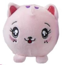 knuffel Squishimi varken junior pluche 9 cm roze
