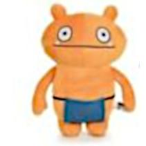 knuffel Ugly Dolls junior 28 cm polyester oranje