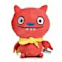 knuffel Ugly Dolls junior 28 cm polyester rood