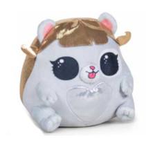 knuffel LOL Pet junior 18 cm polyester goud/wit