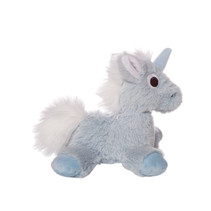 knuffel Floppies Unicorn 18 cm pluche lichtblauw