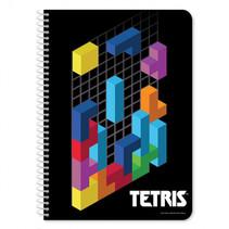 schrift Tetris junior 17 x 25 cm papier zwart 60 pagina's