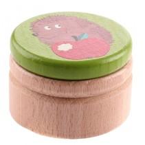 melktanddoosje egel groen 5 cm