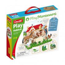 speelfigurenset Play Habitat junior karton 152-delig