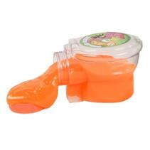 toilet met neonkleurige putty 9,5 cm junior oranje