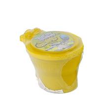 toilet met neonkleurige putty 10 cm junior geel