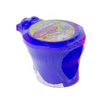 toilet met neonkleurige putty 10 cm junior blauw