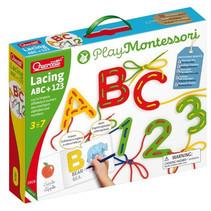 cijfers en letterlijn ABC+123 Play Montessori