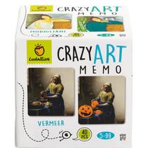 memory Crazy Art junior karton 40 kaarten