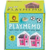 memory Memo Houses junior karton 40 stuks
