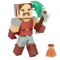 speelfiguur Minecraft Dungeons junior 8,2 cm rood 4-delig