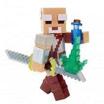 speelfiguur Minecraft Dungeon junior 8,2 cm bruin 4-delig