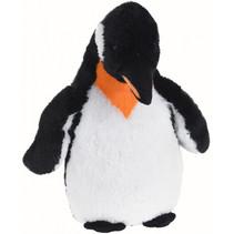 knuffel pinguïn junior 60 cm pluche zwart/wit