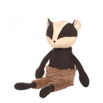 knuffel Beck Badger junior 40 cm pluche bruin