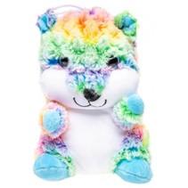 knuffelbeer 20 cm multicolor/blauw