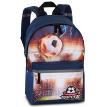 rugtas Tournament Soccer 10 liter blauw