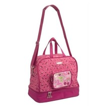 rugzak kersen en frambozen roze 19 liter
