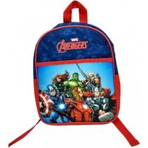 Avengers rugzak junior blauw/rood 25 x 10 x 31 cm
