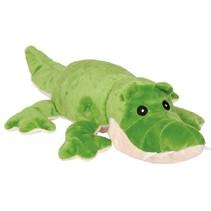 magnetronknuffel krokodil groot 35 cm groen