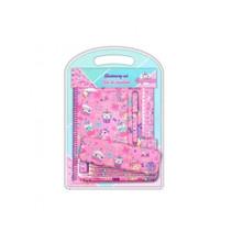schrijfset Cupcake meisjes roze 12-delig