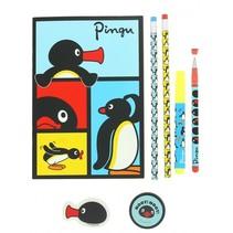 schrijfset Pingu 6-delig