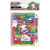 notitieboek met pen Poopsie meisjes A6 groen/roze
