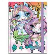 notitieboek Poopsie meisjes A6 lila 96 pagina's