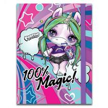 notitieboek Poopsie meisjes A6 paars 96 pagina's