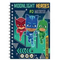 notitieboek PJ masks junior A5 papier blauw